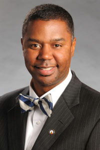 Dr. James Beverly, newly elected chair of the Georgia House of Representatives Democratic Caucus.