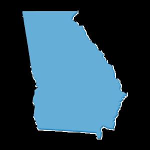State of Georgia Map