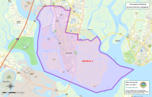 Glynn County Commission Map District Five (5)