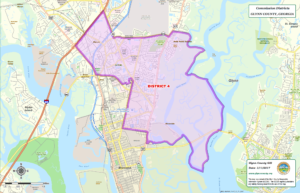 Glynn County Commission Map District Four (4)