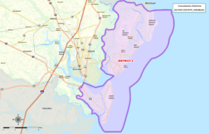 Glynn County Commission Map District Two (2)