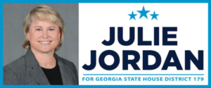 Julie Jordan is running for GA House seat 179